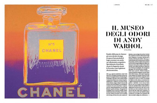 Il museo degli odori di Andy Warhol