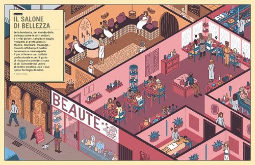 Il salone di bellezza