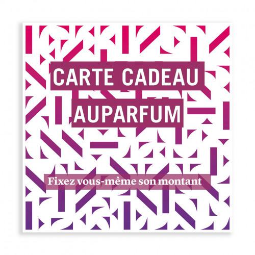 Carte Cadeau - Shop Auparfum, by Nez